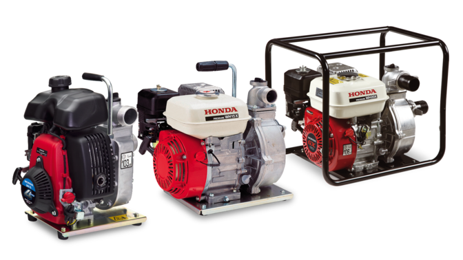 3x Honda waterpumps.